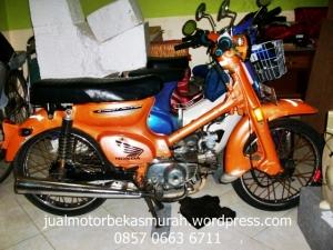 Honda C70 Jual Motor Bekas Surabaya Jual Motor Bekas Murah Surabaya